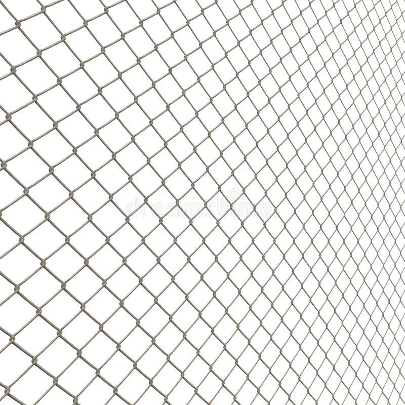 Frontière de sécurité de maillon de chaîne illustration libre de droits