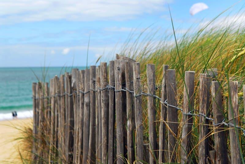 Frontière de sécurité de plage image libre de droits