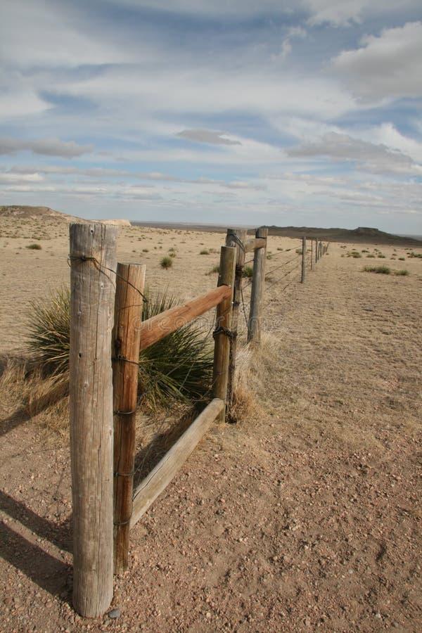 Frontière de sécurité de prairie images stock