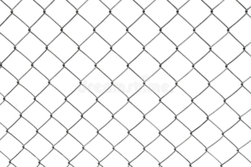 frontière de sécurité de Réseau-tige d'isolement sur le blanc photo stock
