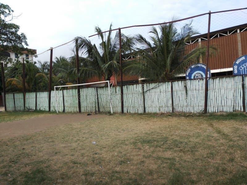 Download Frontière De Sécurité En Bambou Photo éditorial - Image du clôture, bambou: 76090196