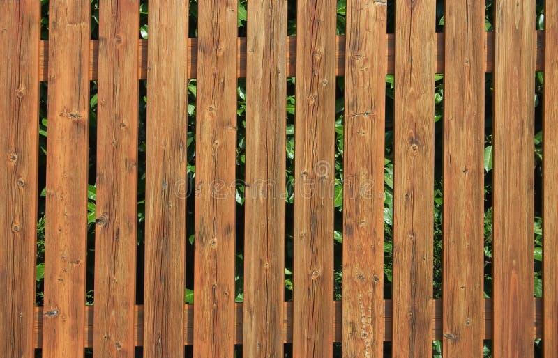 Frontière de sécurité en bois photos stock