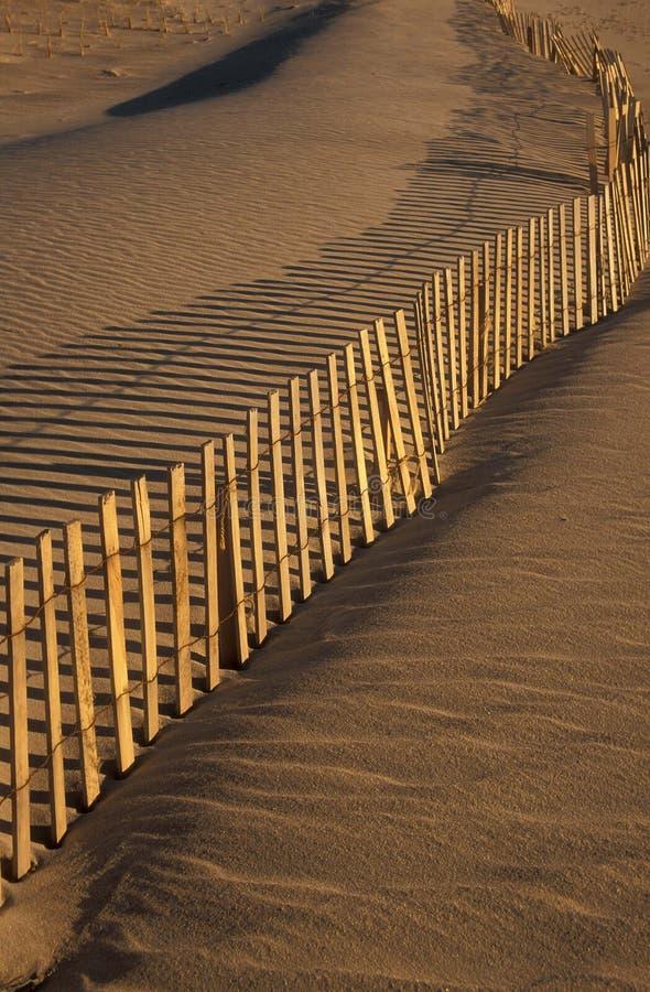 Frontière de sécurité et plage