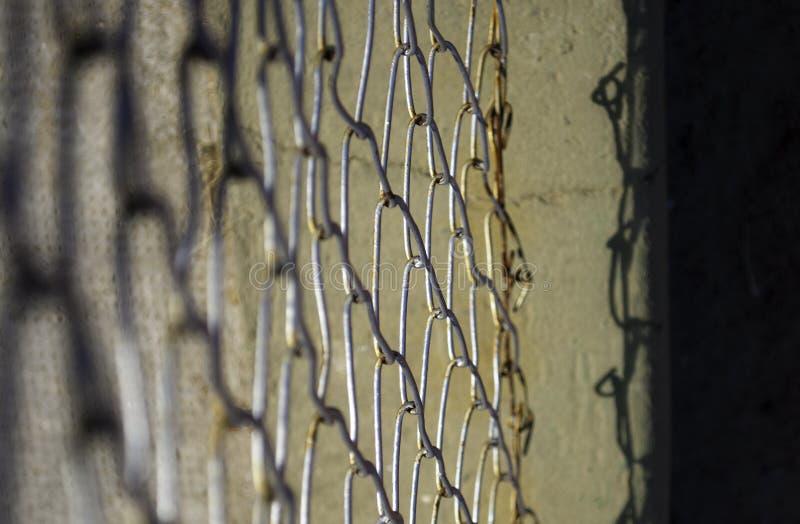 Frontière de sécurité de fil photographie stock libre de droits
