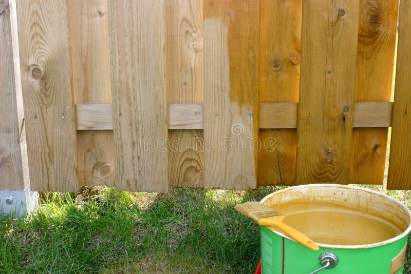 Frontière de sécurité peinte photo stock