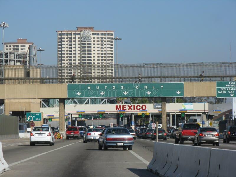 Frontière du Mexique photos libres de droits