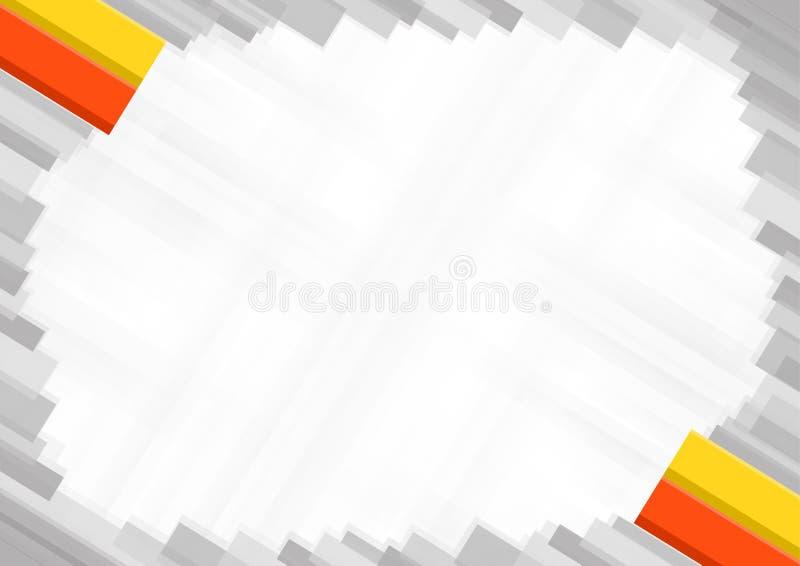 Fronti?re faite avec des couleurs nationales du Bhutan illustration de vecteur