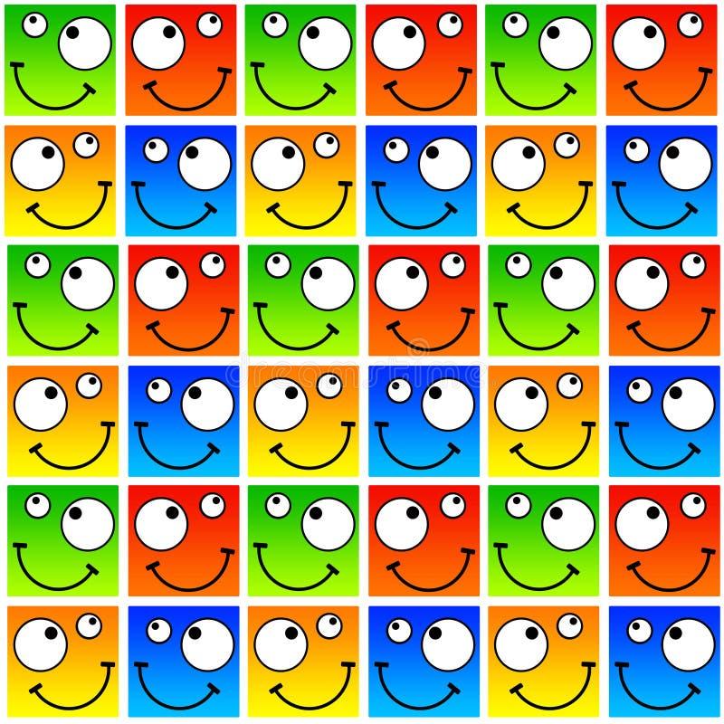 Fronti felici illustrazione di stock