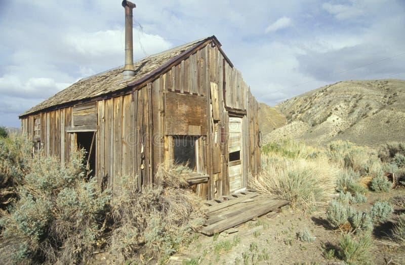 Download Frontier cabin stock image. Image of house, desert, rural - 23180111