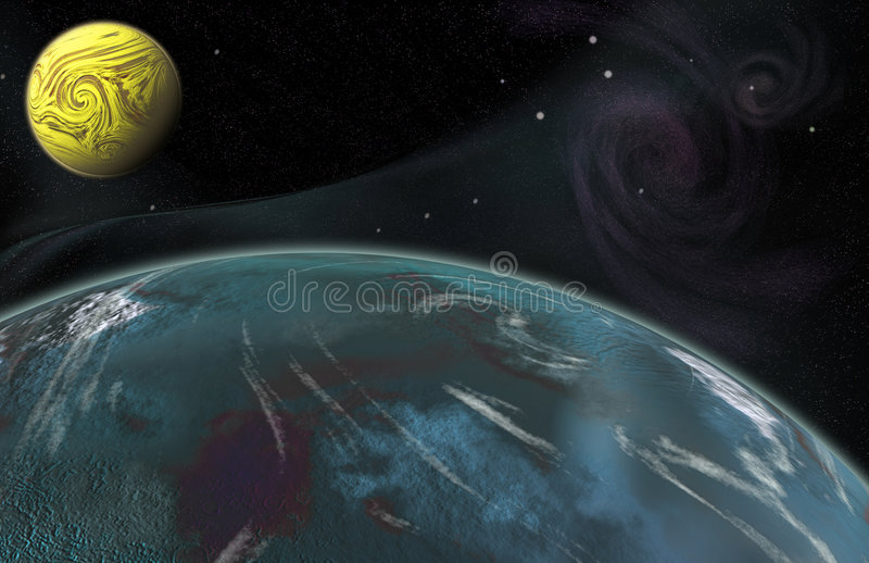 Download The Frontier Worlds stock illustration. Image of adventure - 2998394
