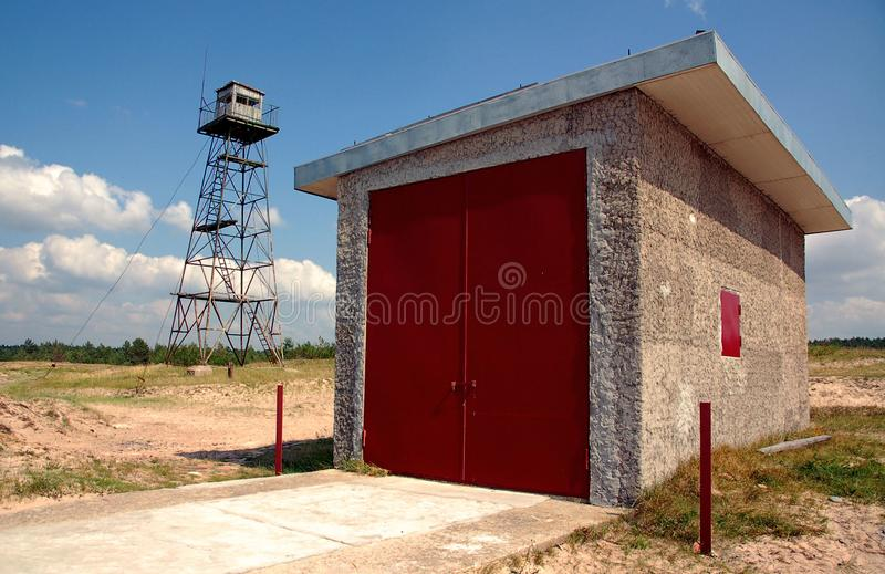 Download Frontier zone stock photo. Image of tower, surveillance - 8678146