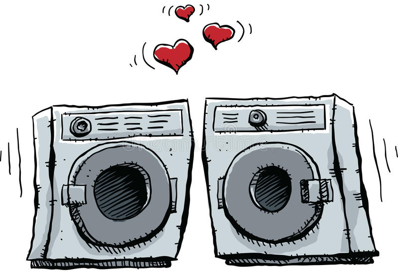 Cartoon Washer Dryer Stock Illustrations – 419 Cartoon Washer ...