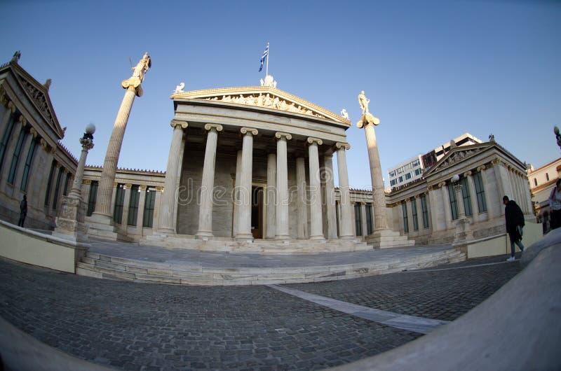 Download Fronton D'académie D'Athènes Image stock - Image du minerva, académie: 87706199