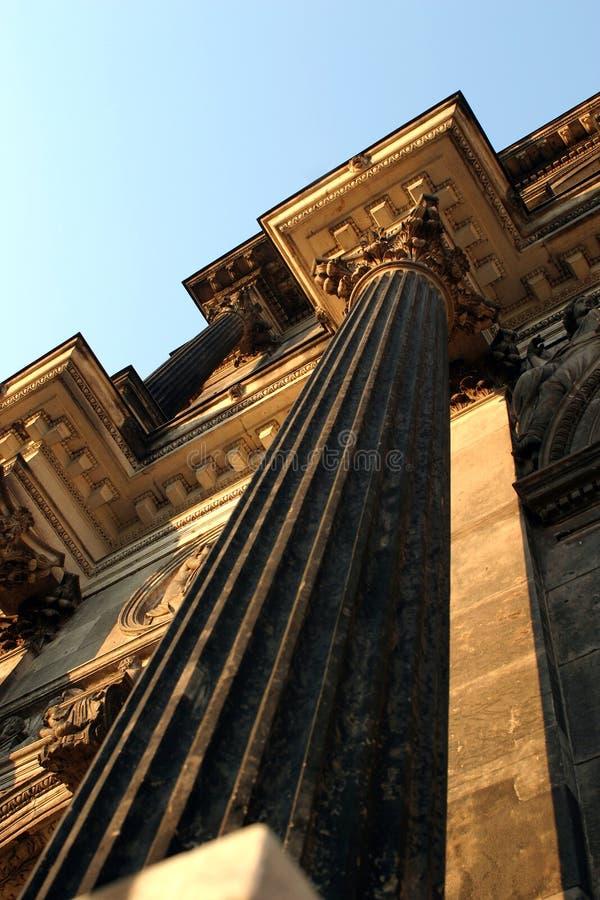 frontonu romanian klasyczny styl zdjęcia stock