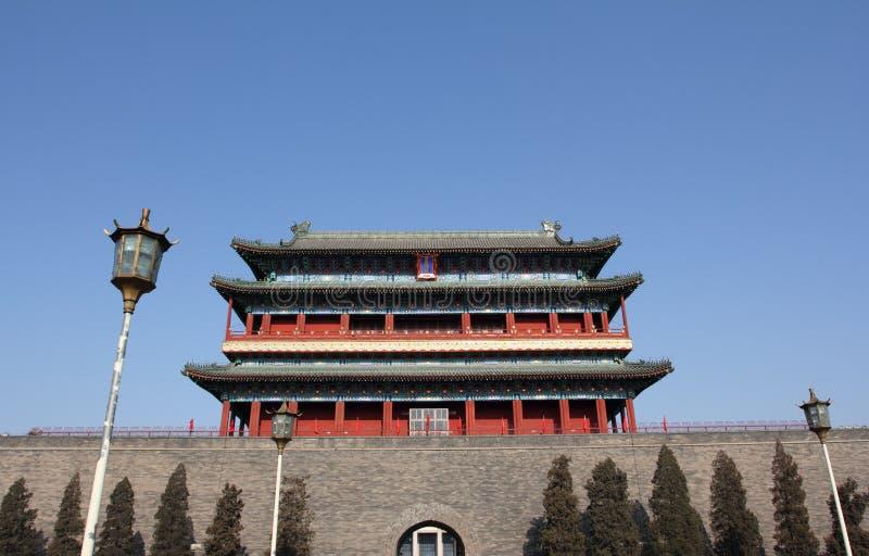 frontowa Beijing brama obrazy royalty free