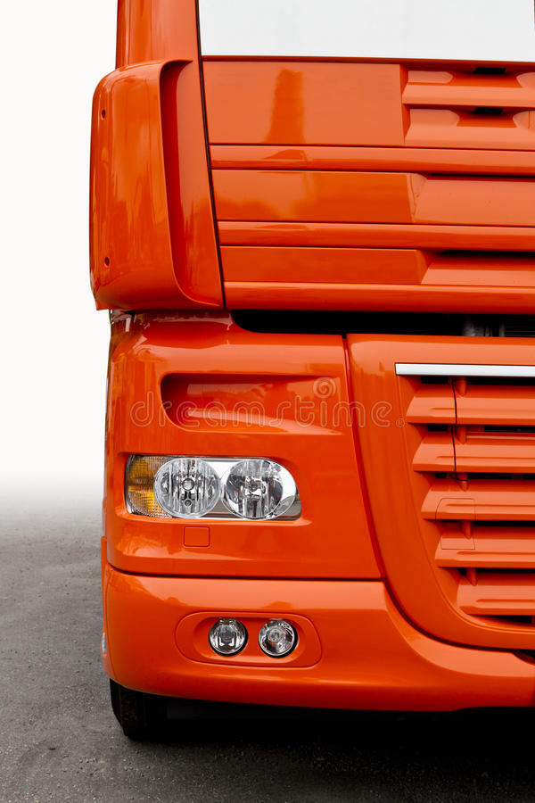 frontowa ciężarówka obraz royalty free
