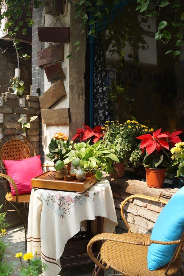 Frontowy ogród zdjęcie stock