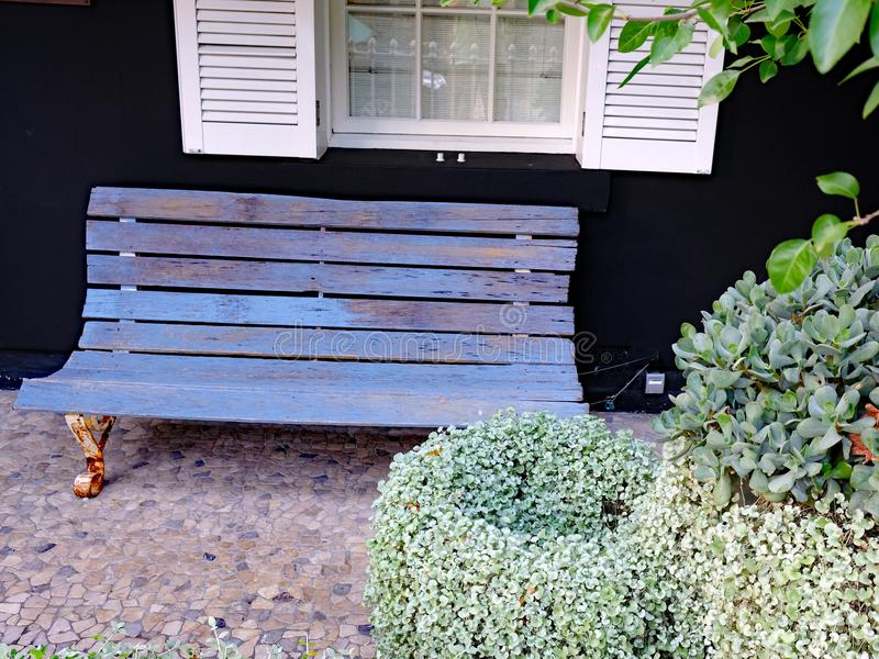 Frontowy ogród, Sydney Podmiejski dom, Australia zdjęcia stock