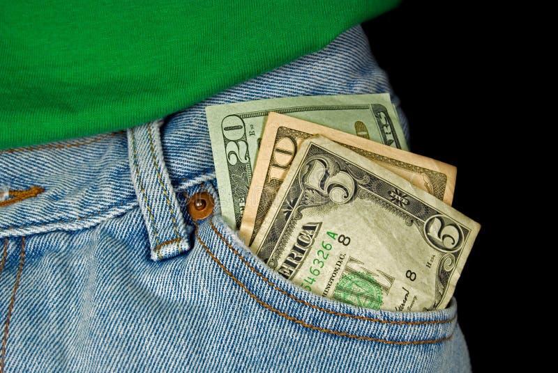frontowy pieniądze zdjęcia stock