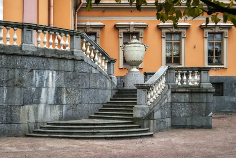 frontowy schody fotografia royalty free