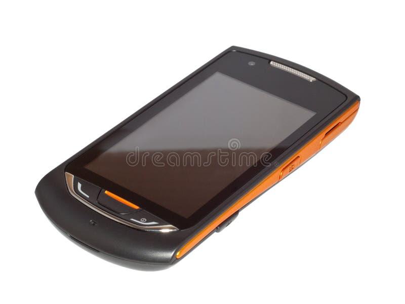 frontowy telefon komórkowy zdjęcia stock