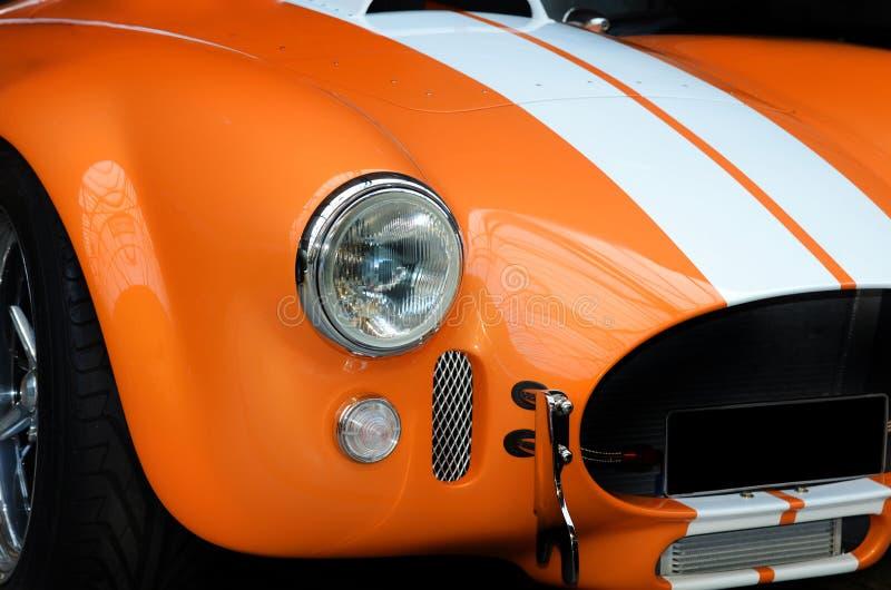 Frontseite des modernen Sportautos lizenzfreies stockbild