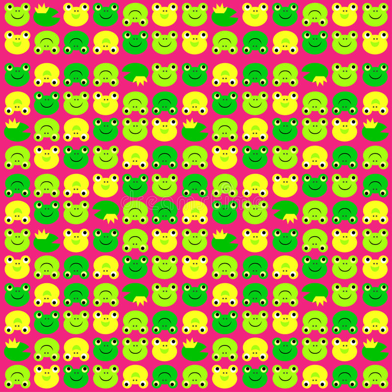 Froschmuster vektor abbildung