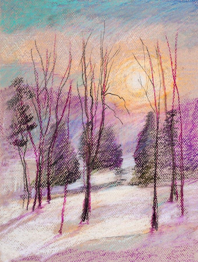 . Frost illustration stock