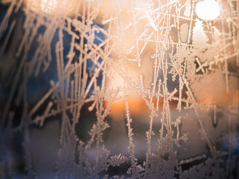Frost abstract background. stock photos