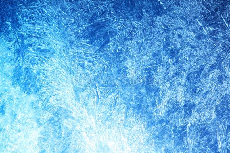 Frost auf Glas lizenzfreie abbildung