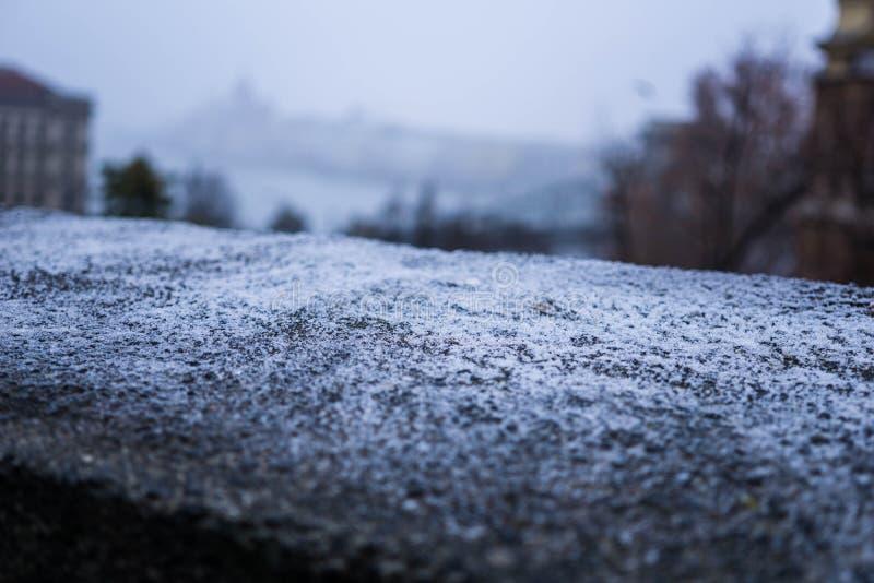 Frost en la pared imágenes de archivo libres de regalías