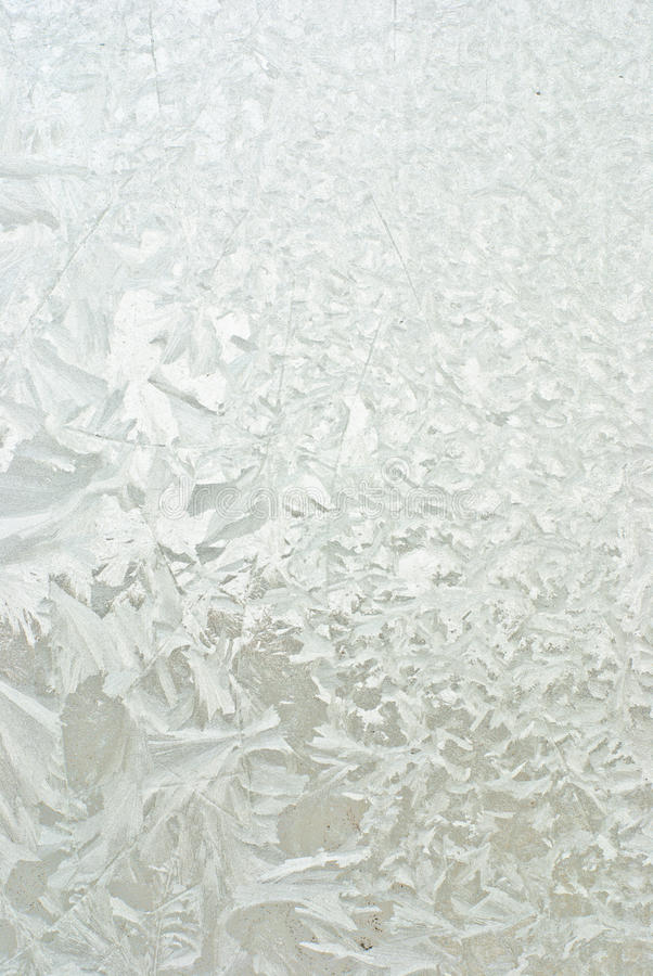 Frost on window royalty free stock photos