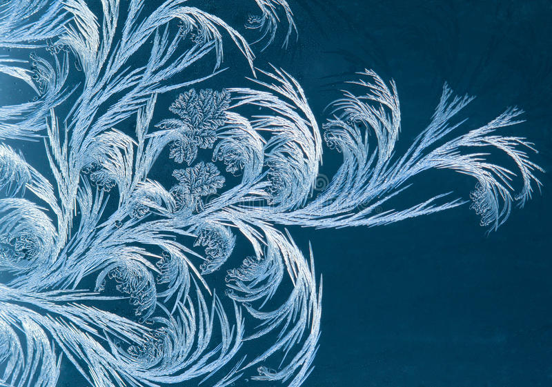 Frostabstrakt begrepp royaltyfria foton
