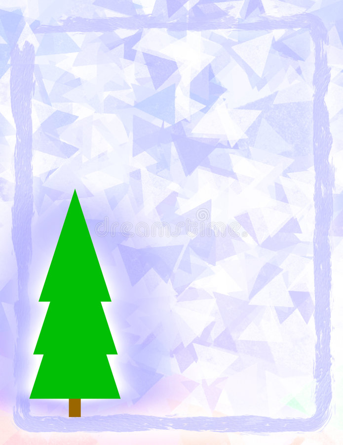 Frosted Christmas Design Royalty Free Stock Photos