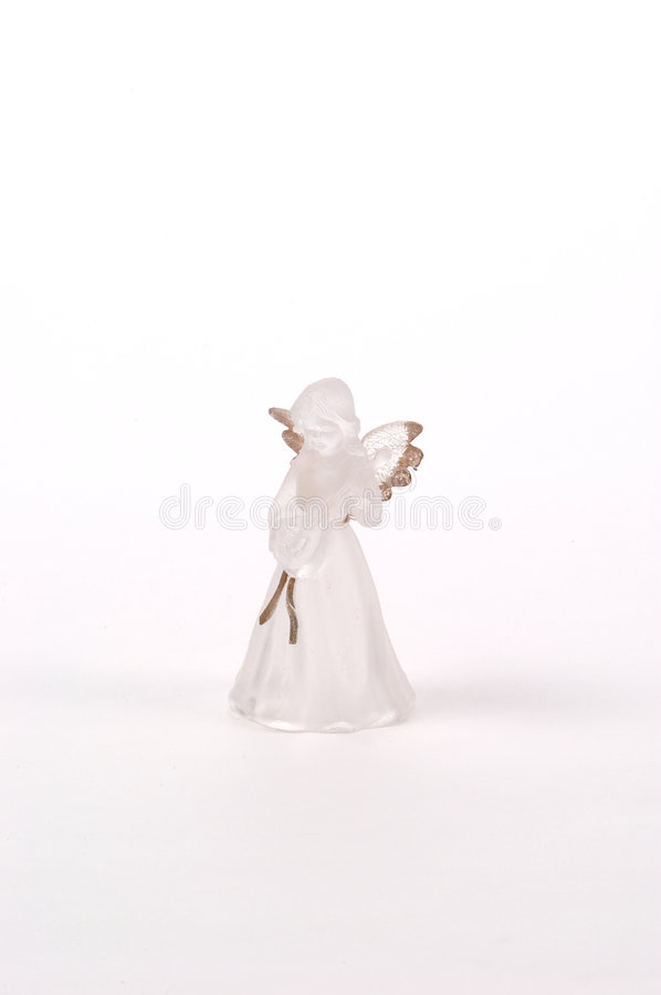 Download Frosted Glass Angel stock image. Image of holiday, trim - 23007