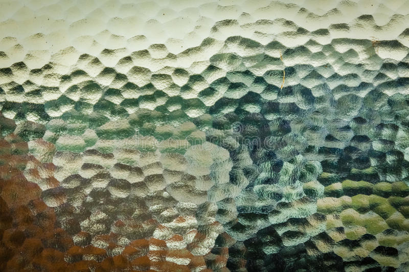 Frosted glass window stock photo