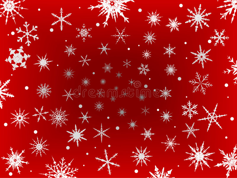 Download Frosted Snow Border - Red stock vector. Image of winter - 8353221