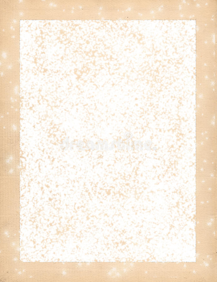 Frosted white stationary! stock images