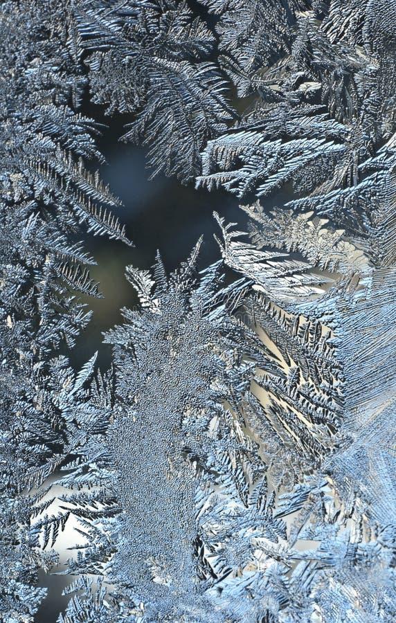frostfönsterarbete royaltyfria foton
