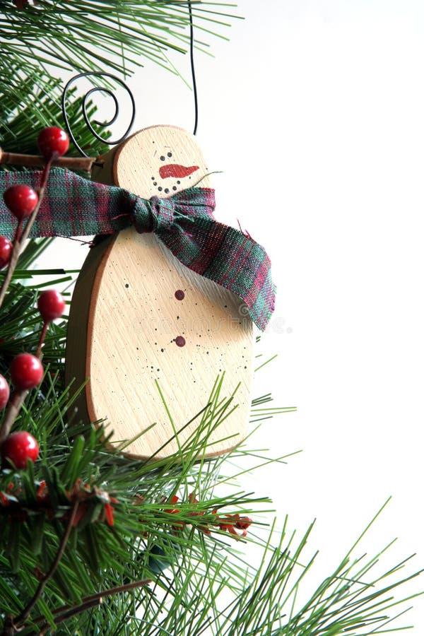 frostig prydnad för jul royaltyfria bilder