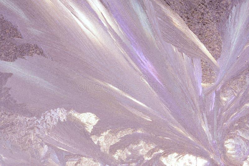 frostigt fönster royaltyfri bild