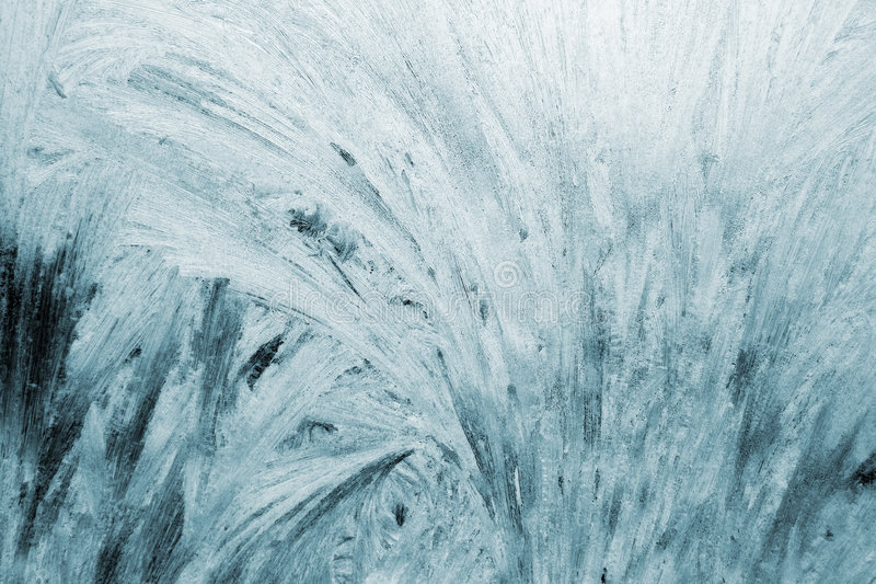 Frostmuster lizenzfreies stockfoto