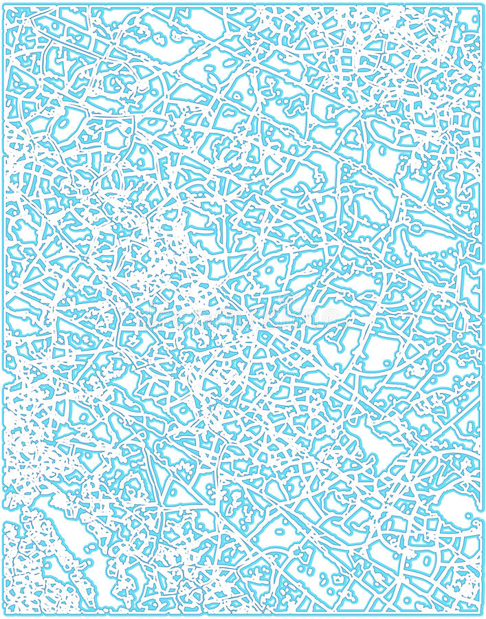 Frostmuster lizenzfreie abbildung