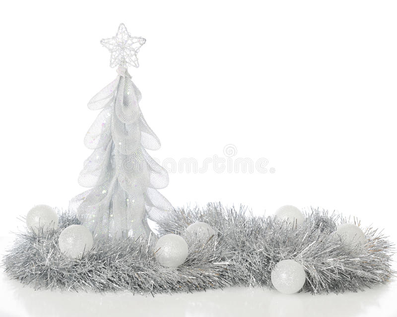 Frosty Christmas Still Life fotografia stock