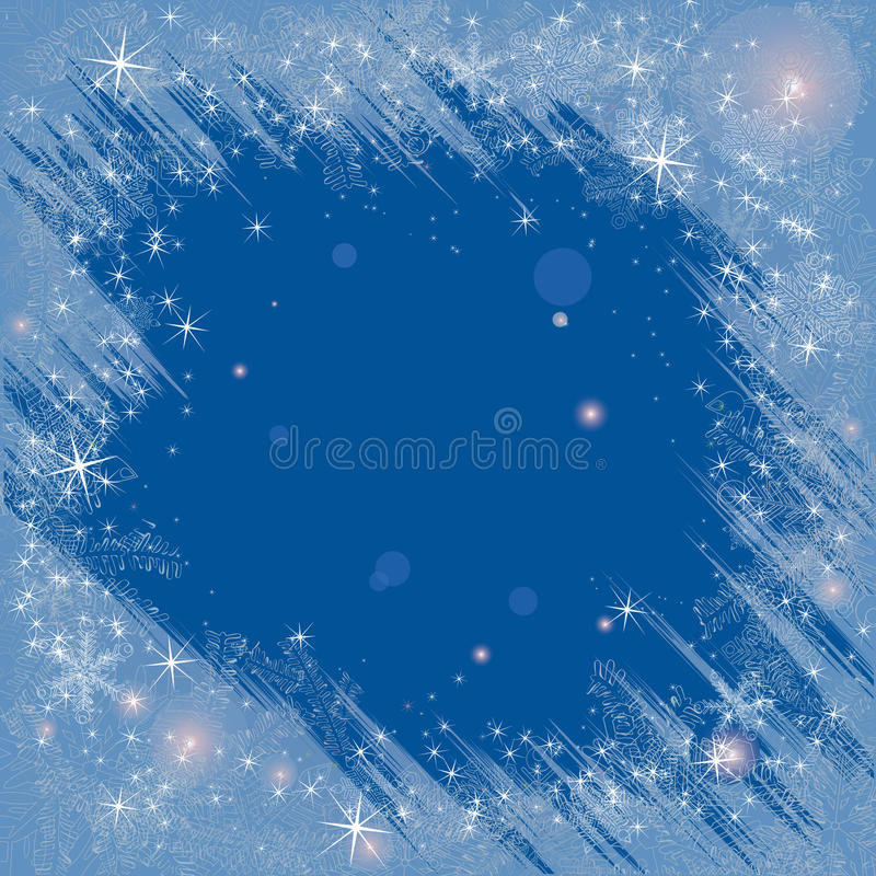 Download Frosty frame stock vector. Image of december, ornament - 17339765