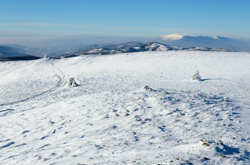 frosty krajobrazu zdjęcia stock