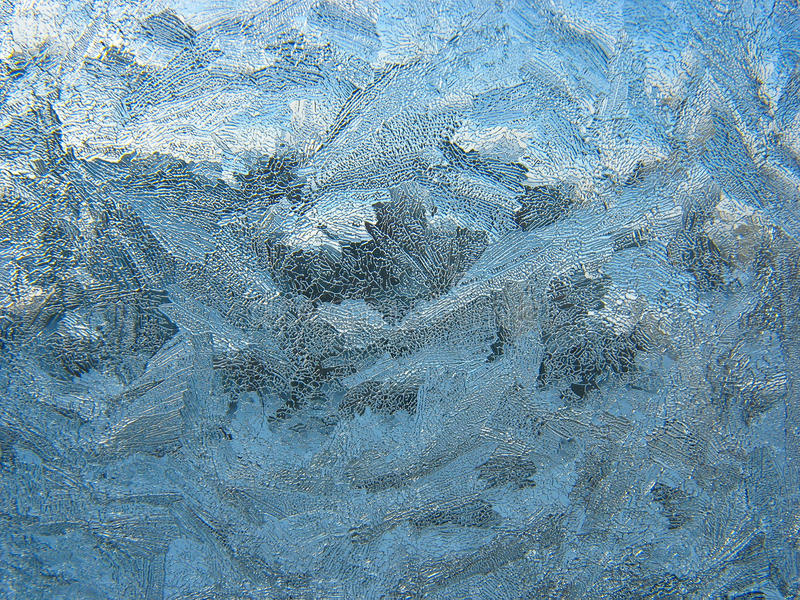 Download Frosty pattern on pane stock photo. Image of window, white - 24499364