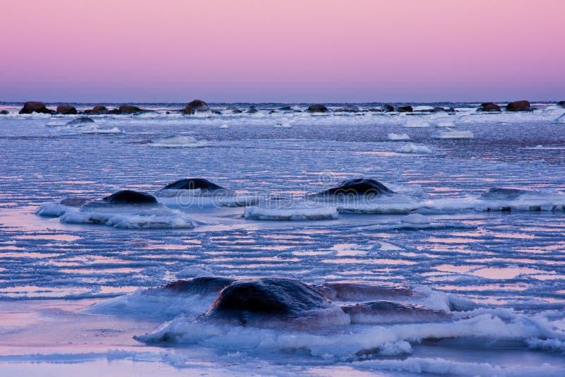 Frosty Sea Royalty Free Stock Photo