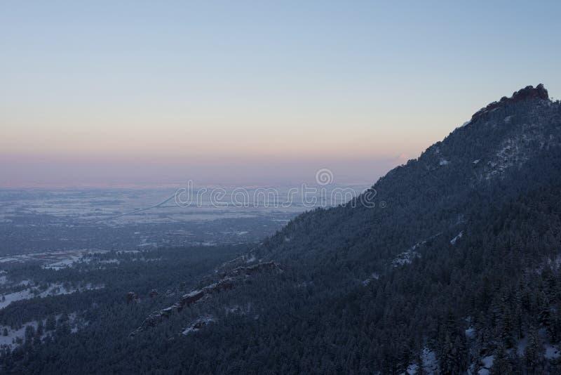 Frosty Sunrise royalty free stock photo