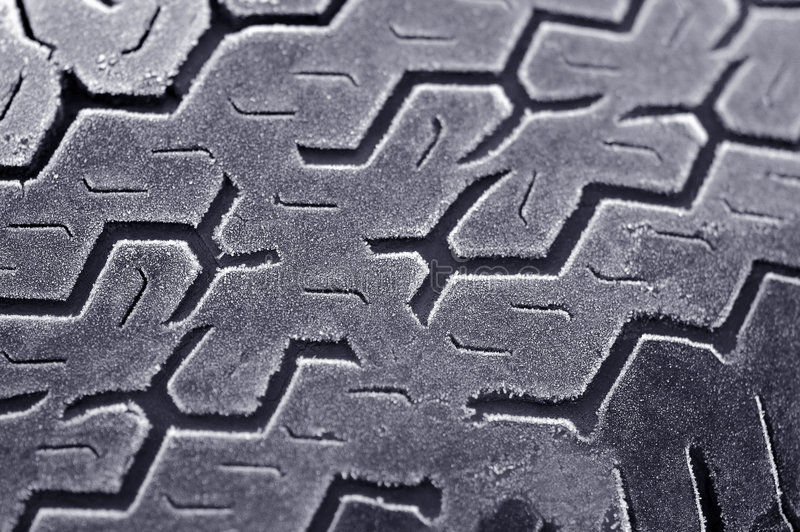 Frosty tread stock images